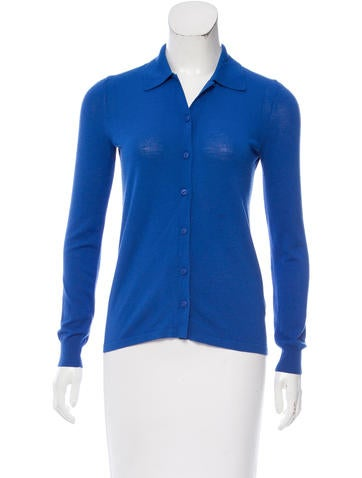Tibi Button-Up Knit Top None