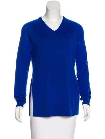Tibi Layered Wool Knit Sweater None