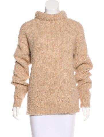 Tibi Alpaca-Blend Knit Sweater None
