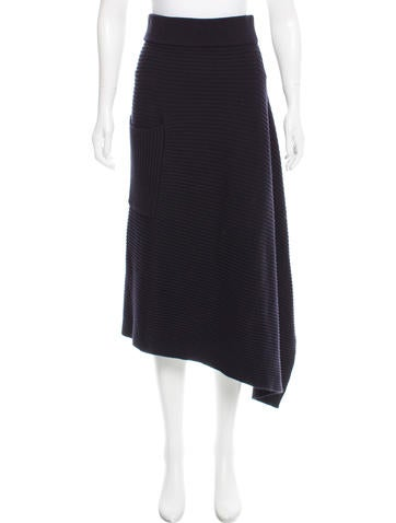 Tibi Ribbed Wool Skirt w/ Tags None