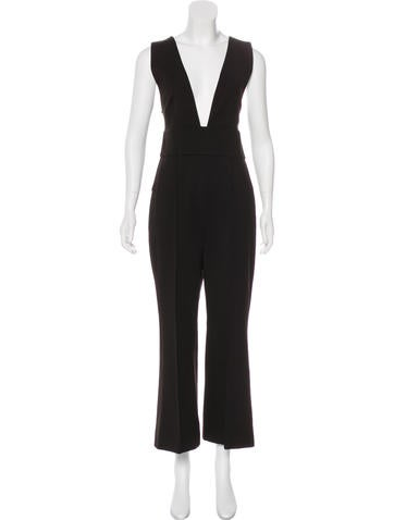 Tibi Sleeveless High-Rise Jumpsuit w/ Tags None
