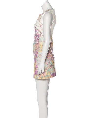 Denim Printed Dress