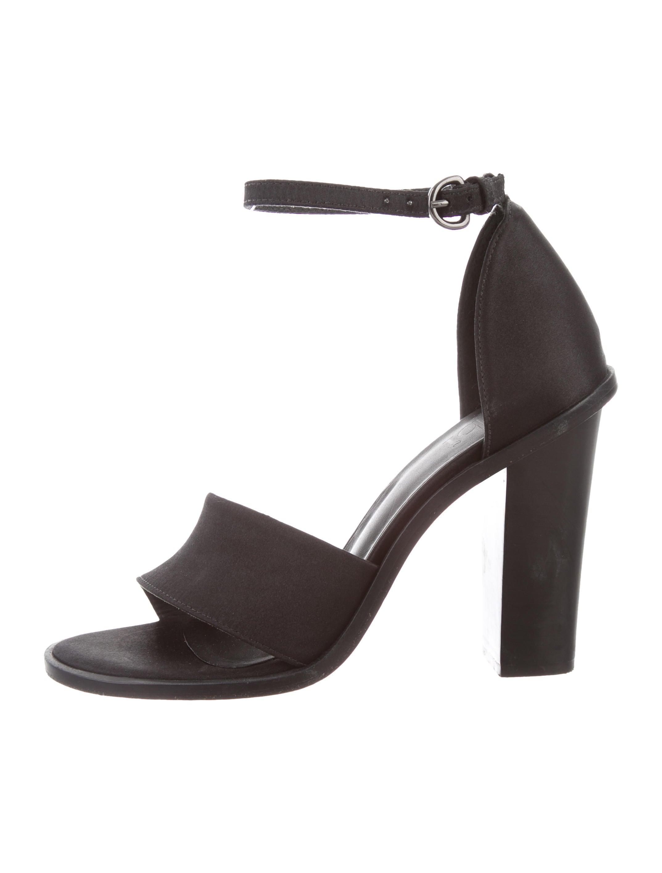 Tibi Satin Ankle Strap Sandals low cost cheap online cheap sale ...