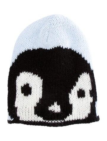 Tibi Penguin Knit Beanie Accessories Wti47314 The Realreal