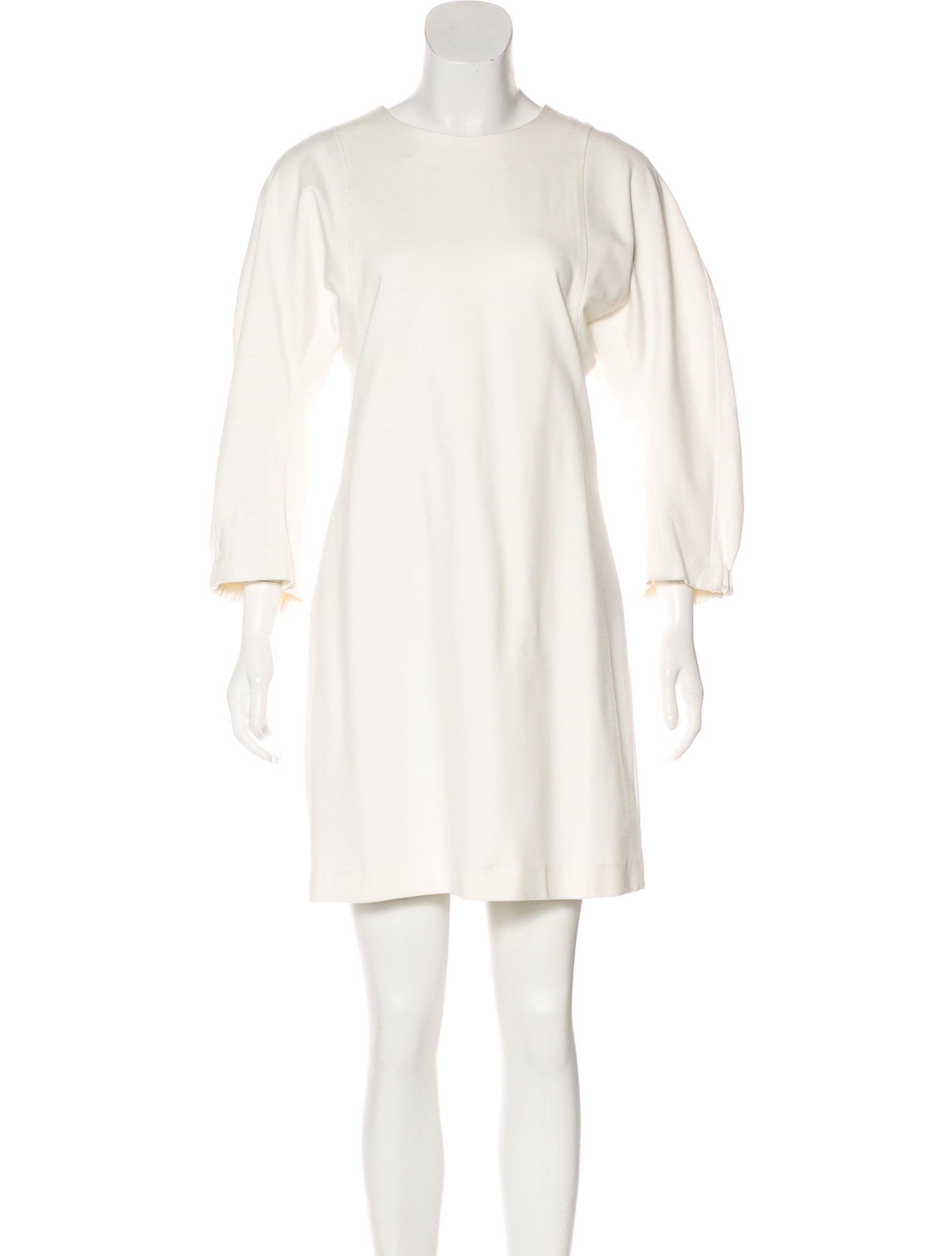 Tibi Long Sleeve Mini Dress - Clothing -           WTI55098 | The RealReal