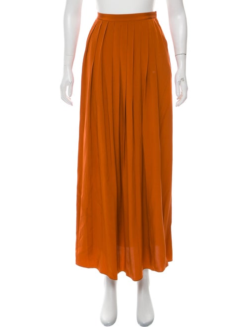 Tibi Silk Maxi Skirt