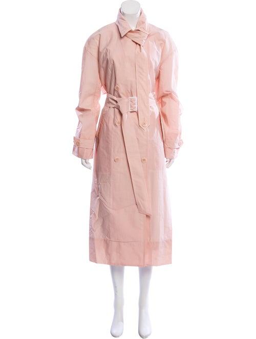 Tibi Trench Coat Pink