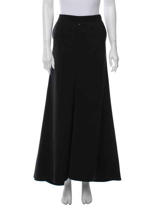 Tibi Long Skirt Black