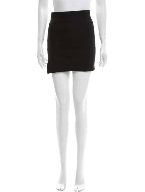 Tibi Wool Mini Skirt Wool