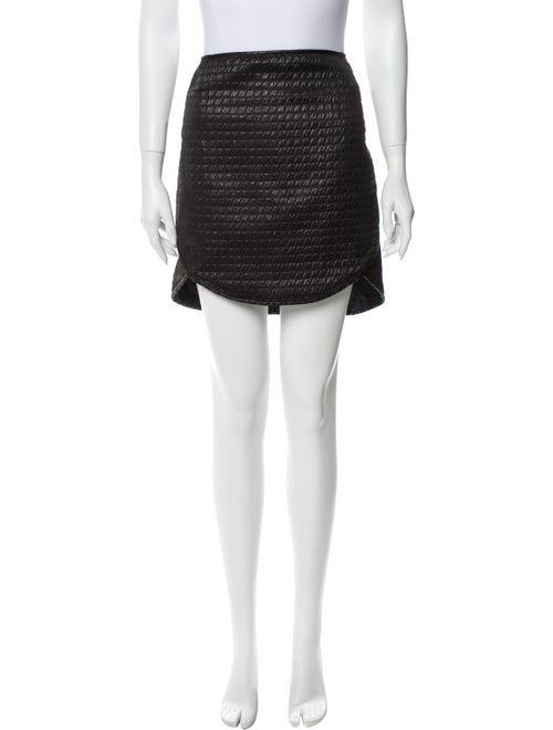 Tibi Mini Skirt w/ Tags Black