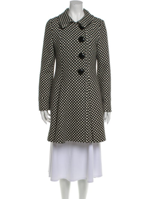 Tibi Wool Printed Coat Wool
