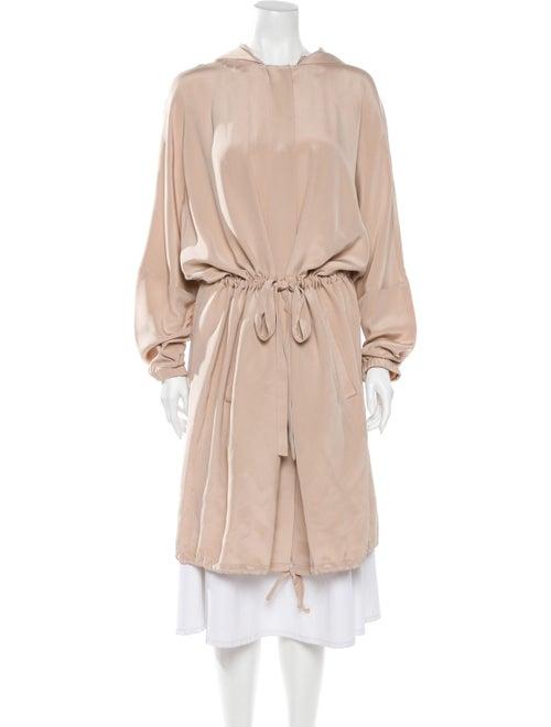 Tibi Silk Trench Coat w/ Tags