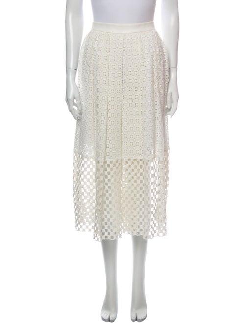 Tibi Midi Length Skirt