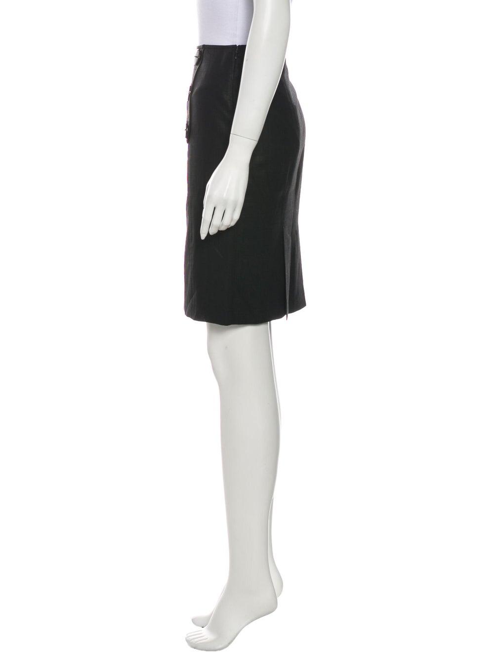 Tibi Wool Knee-Length Skirt Wool - image 2