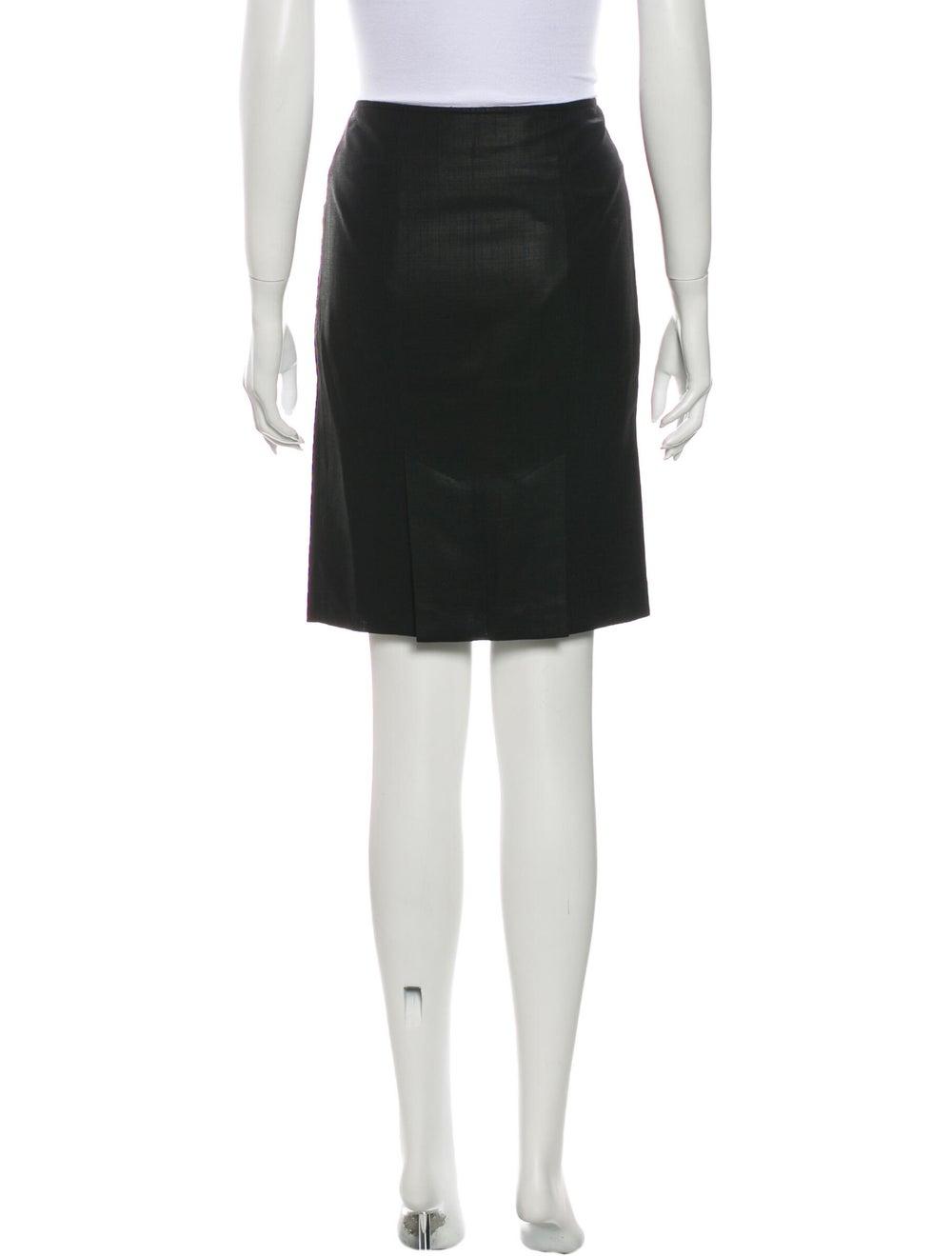 Tibi Wool Knee-Length Skirt Wool - image 3