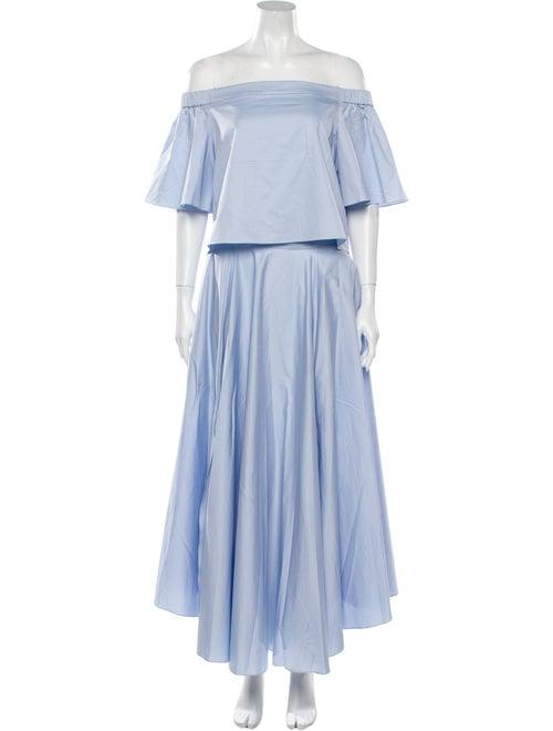 Tibi Skirt Set w/ Tags Blue