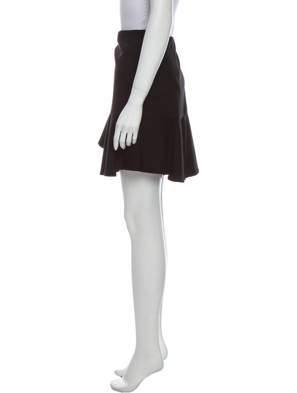 Tibi Mini Skirt Black - image 2