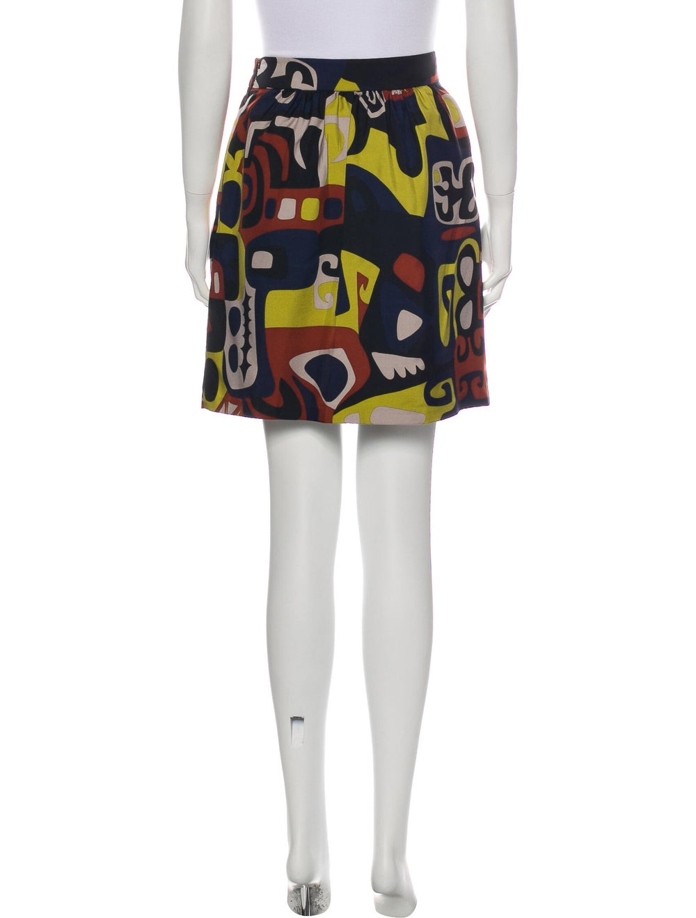 Tibi Silk Mini Skirt - image 3