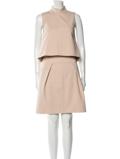 Tibi Skirt Set Brown