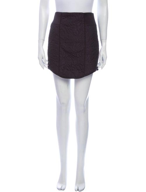 Tibi Mini Skirt Blue