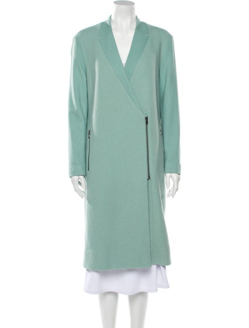 Tibi Coat Green