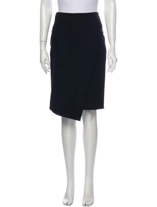 Tibi Knee-Length Skirt Black
