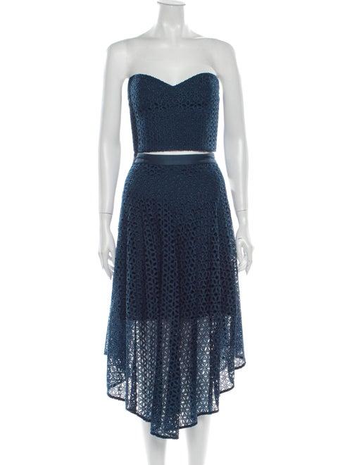 Tibi Skirt Set w/ Tags Blue - image 1