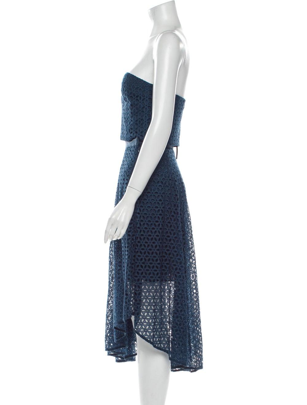 Tibi Skirt Set w/ Tags Blue - image 2