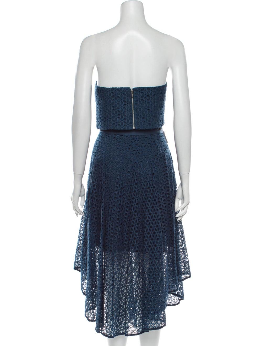 Tibi Skirt Set w/ Tags Blue - image 3