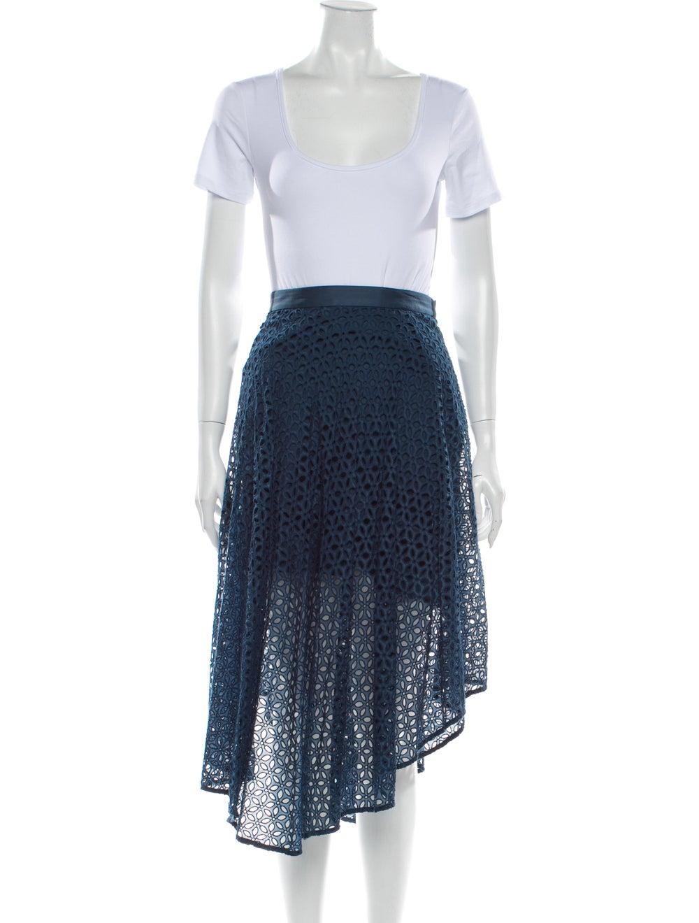 Tibi Skirt Set w/ Tags Blue - image 4