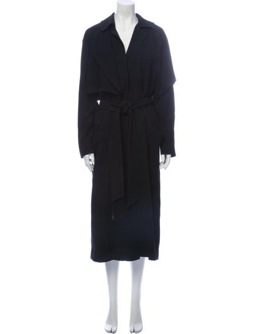 Tibi Trench Coat Black
