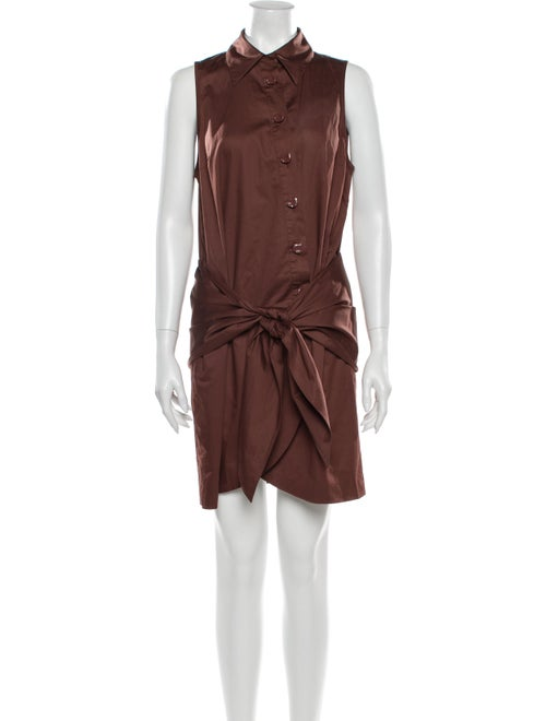 Tibi Mini Dress w/ Tags Brown