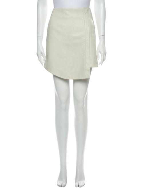 Tibi Mini Skirt White