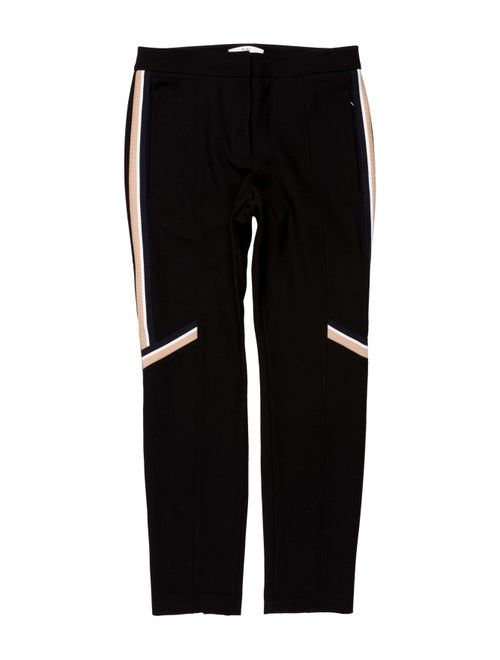 Tibi Straight Leg Pants Black