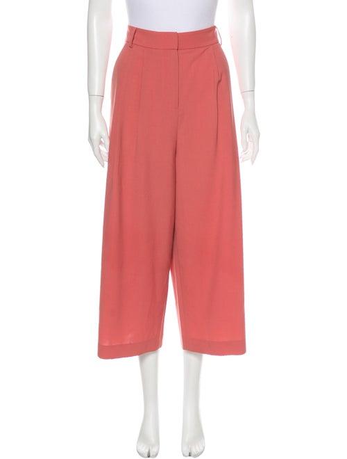 Tibi Wide Leg Pants Pink