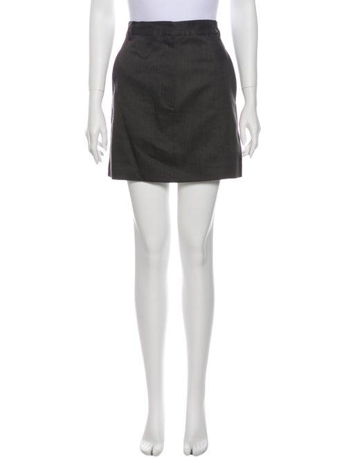 Tibi Mini Skirt Grey