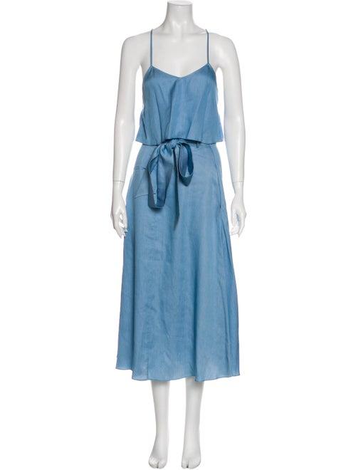 Tibi Skirt Set Blue