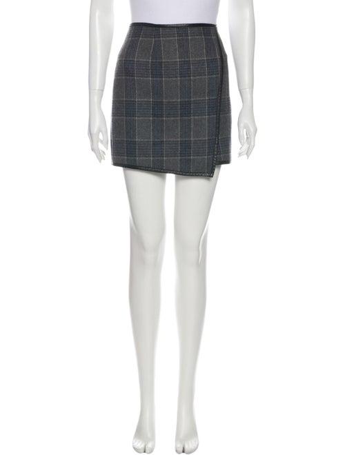 Tibi Wool Mini Skirt Wool