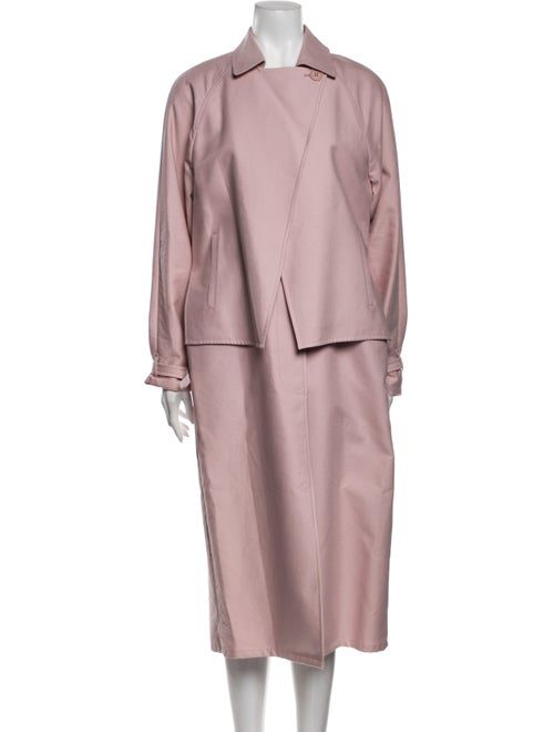 Tibi Trench Coat Pink