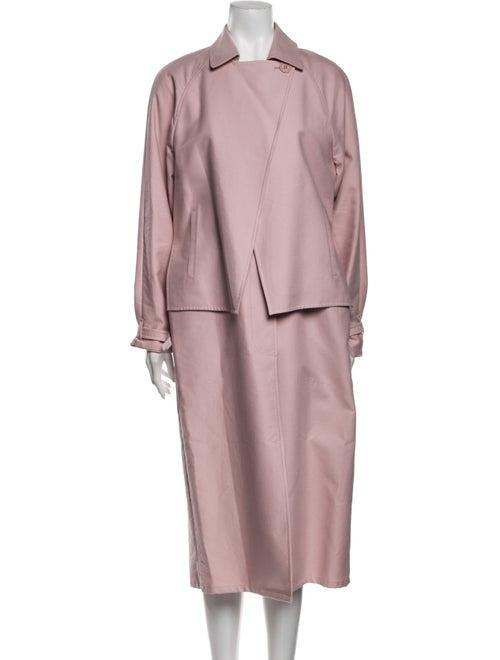 Tibi Trench Coat Pink - image 1