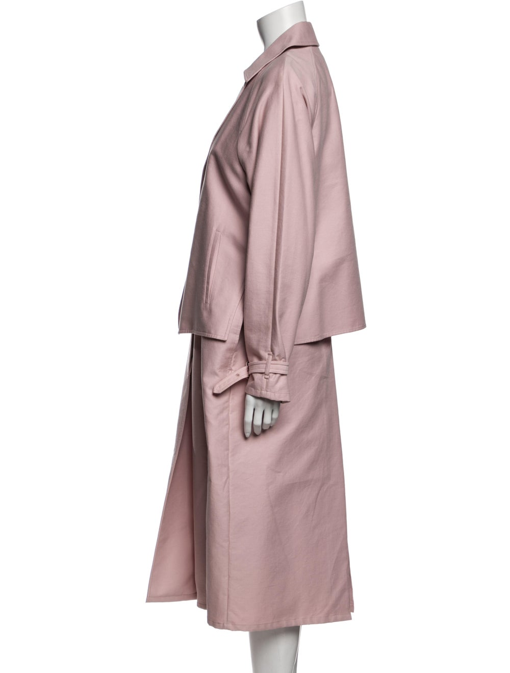 Tibi Trench Coat Pink - image 2