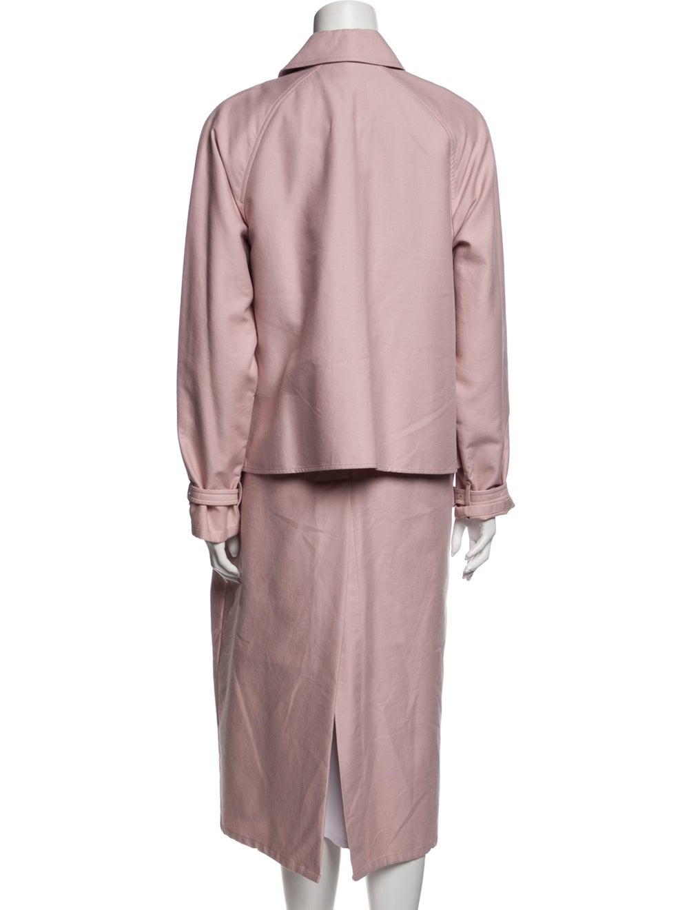 Tibi Trench Coat Pink - image 3