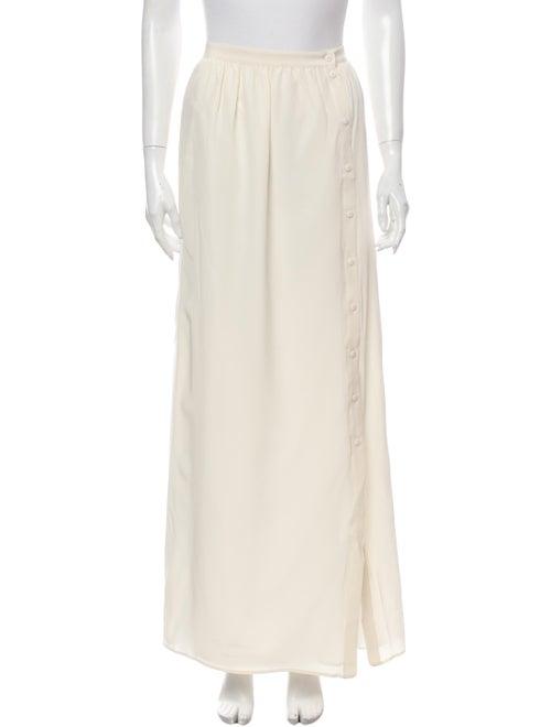 Tibi Silk Long Skirt