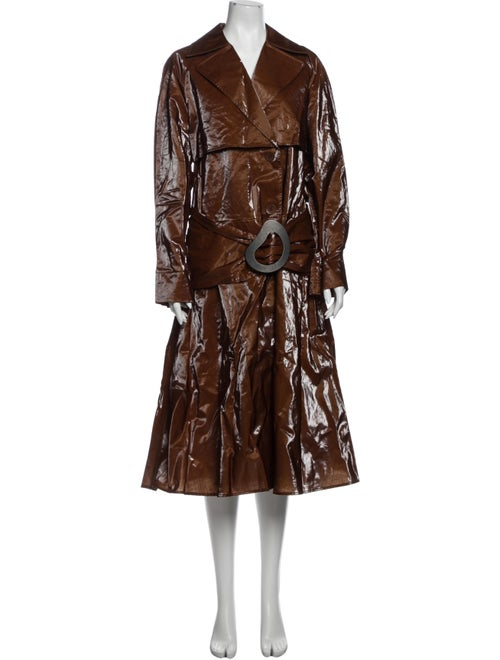 Tibi Trench Coat w/ Tags Brown