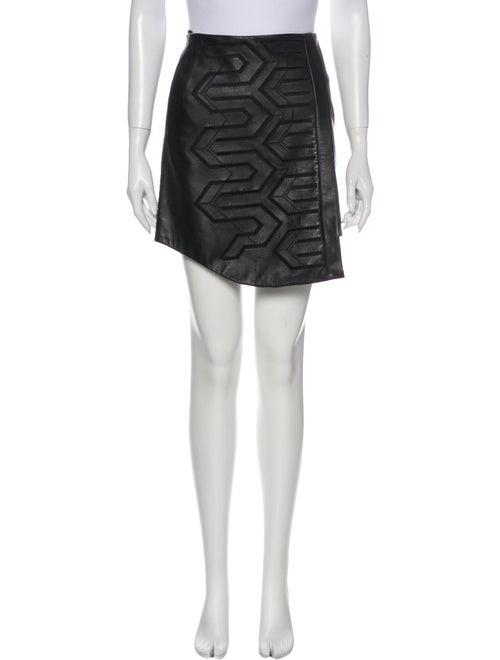 Tibi Mini Skirt Black