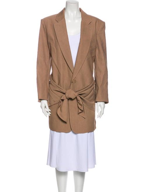 Tibi Trench Coat Brown