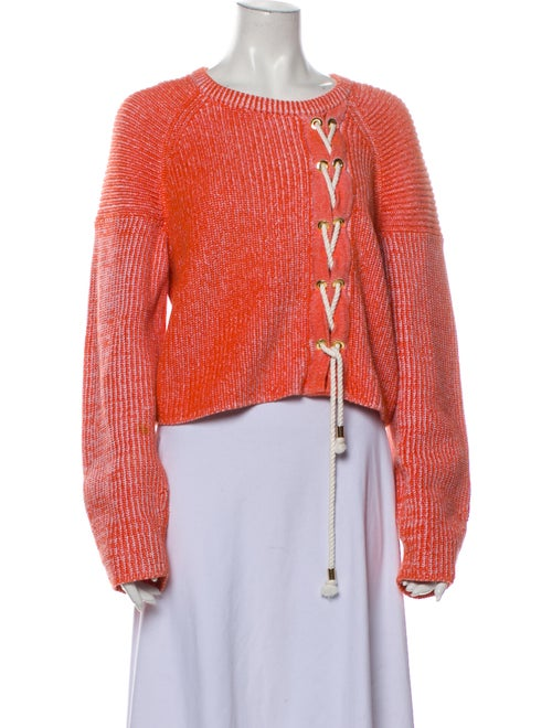Tibi Crew Neck Sweater