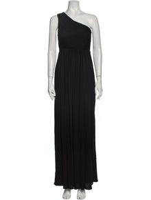 Tibi One-Shoulder Long Dress