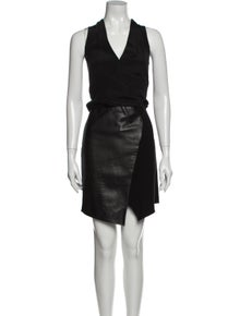 Tibi Silk Knee-Length Dress
