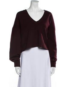 Tibi Wool V-Neck Sweater
